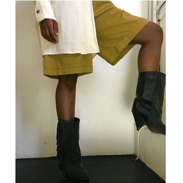 ReLove  - SHOES: Isabel Marant for H&M fringe heel boot