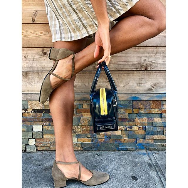 ReLove  - . - SHOES: Yves Saint Laurent Olive Suede round toe strappy heel. Size 6,