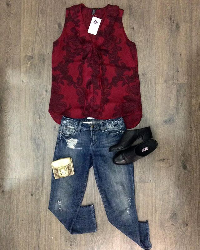 2_time_couture - It's thrifty Thursday, come check out our sale racks!  Kenneth Cole tank, size S. 25% off