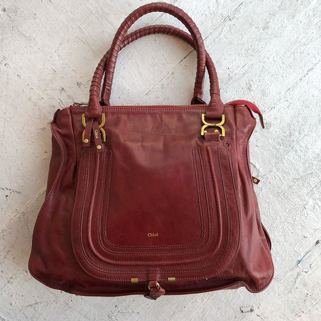 VACATION - Well well well New year new you new @chloe bag perhaps? XL ruby calfskin #marcie bag- excellent condition with a few little spots (see pics)