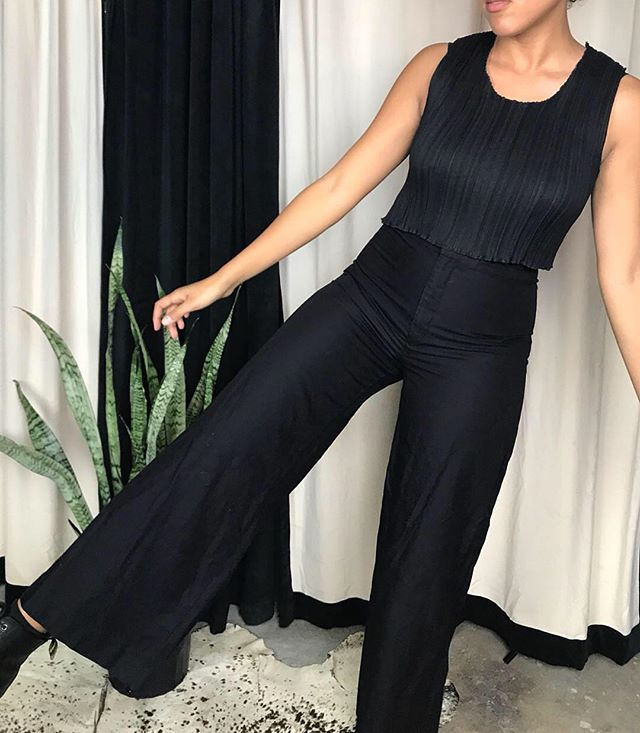 ReLove  - Isabel Marant  wide leg, slightly cropped, and a high rise.