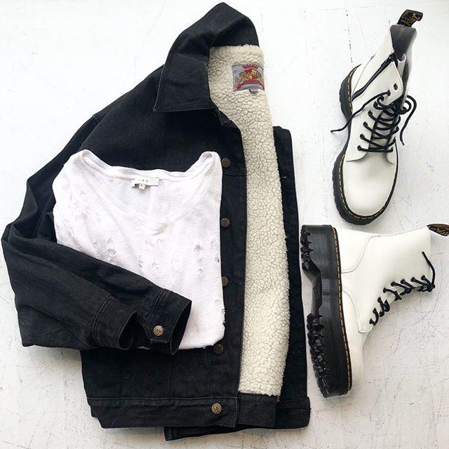 "ReLove  - SHOES: Doc Marten White Leather Platform Lace Up Boots. 2"" Heel rise. Men's size 9, Women's 11,"