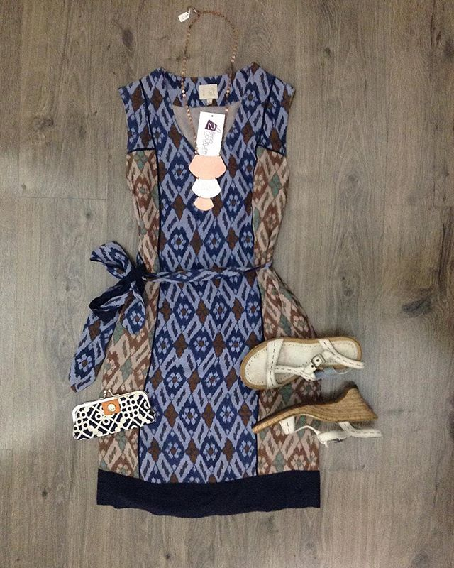 2_time_couture - Loving this spring weather❣ #7468 Coquille Anthropologie dress, size 0.