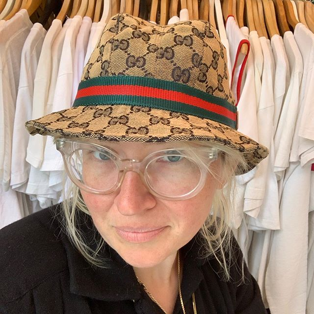 VACATION - #GUCCI but probably #FAUXCCI logo bucket hat ! Fits S/M heads!
