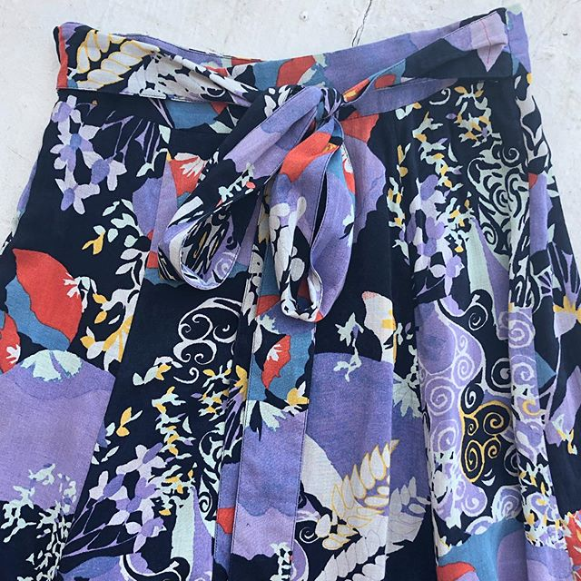 VACATION - *Special Listing* Printed cotton summer skirt. Size S/M.