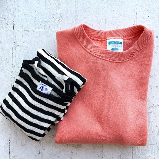 VACATION - & #robertpmiller b+w striped long sleeve, size S.