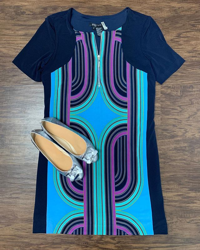 2_time_couture - Ready for the weekend? Come say hi today or tomorrow and see what we have on sale! 👗💋🥰 Item 7881 Etcetera Dress, size 2, 70% off at