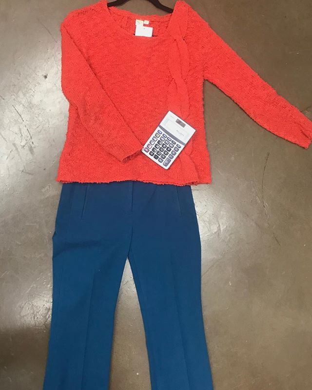 2_time_couture - off any purchase. No minimum! No judgement! Help us clear out for spring!! Come in and grab this Anthropologie sweater or J Crew pants for free! One redemption per customer. No change given if the entire