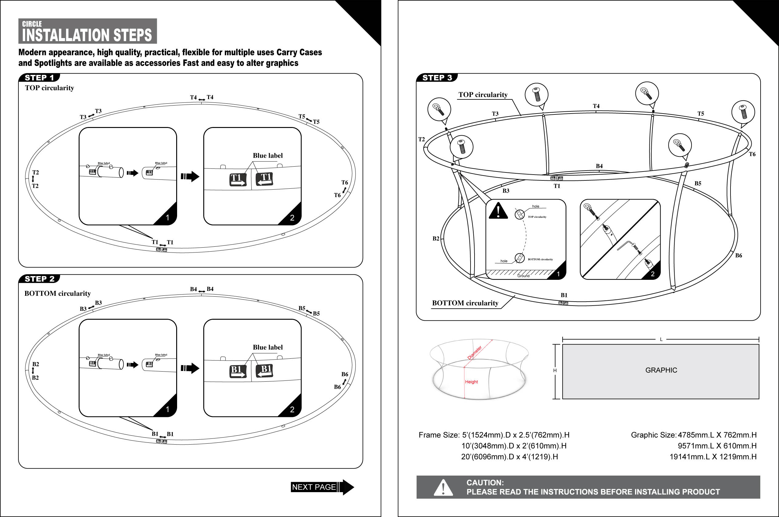 ... Specsheet, Instructions  Instruction Booklet Template