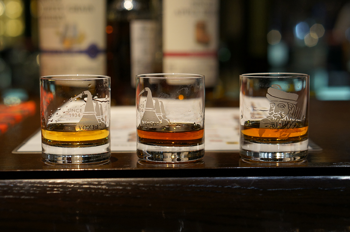 home whiskey tasting: Yoichi Tasting