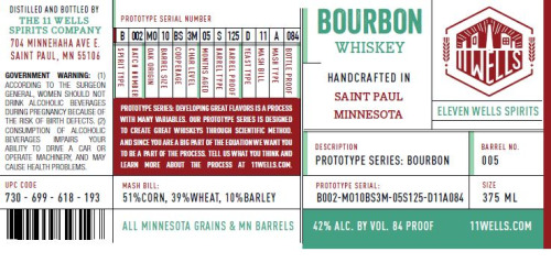 sourced whiskey