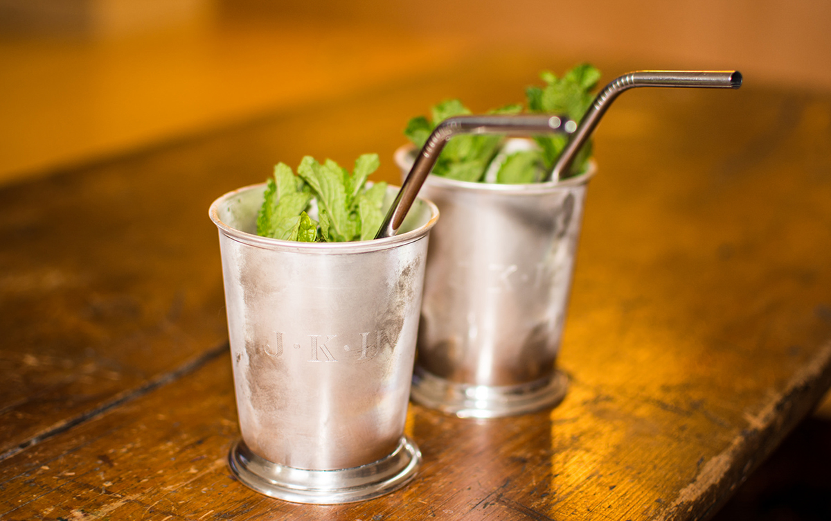 Muddled Drinks: Mint Julep