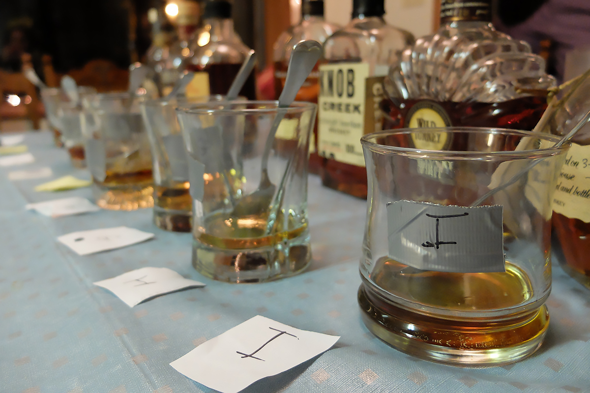 Bourbon Tasting Party: At-home tasting party