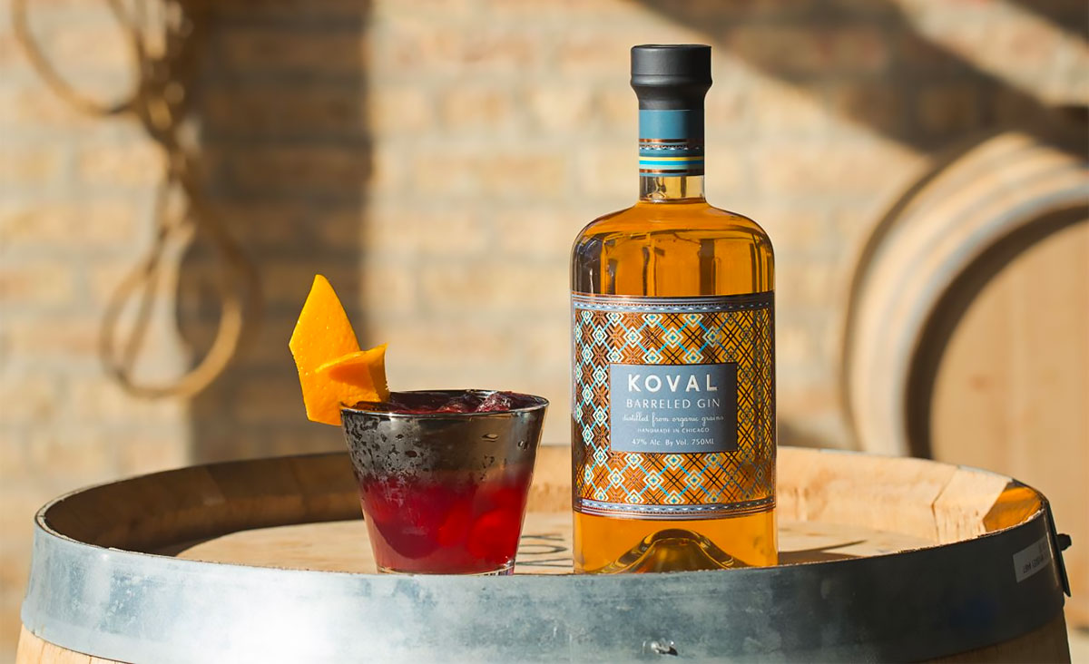Gin Introduction: Koval Barrel Aged Gin
