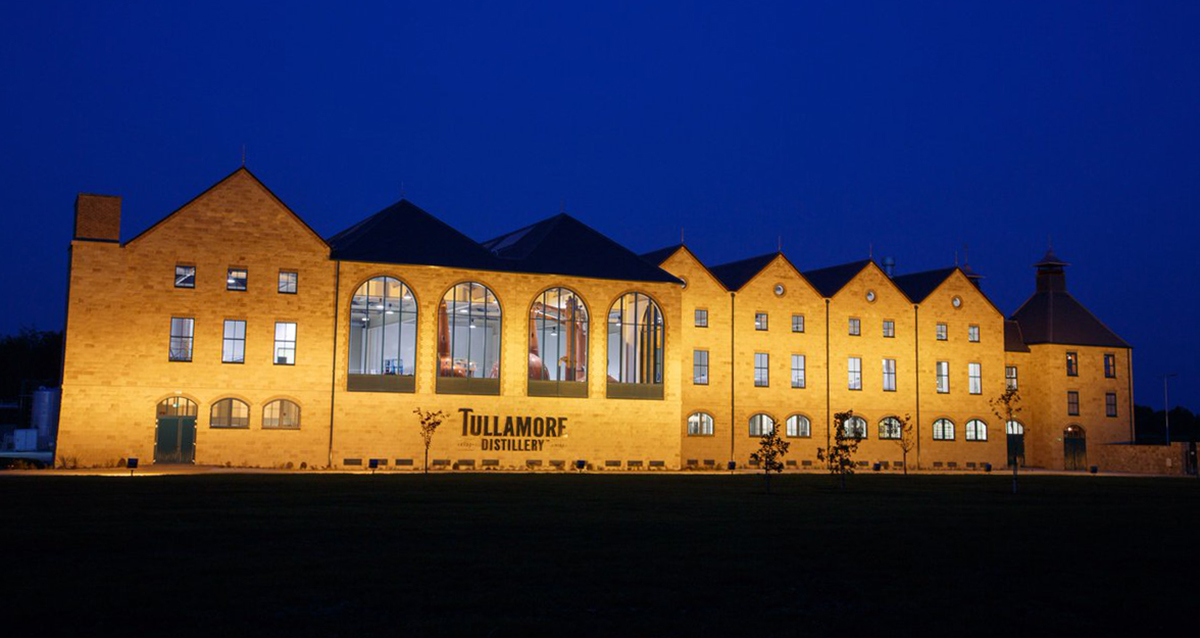 Irish Whiskey Distilleries: Tullamore Dew Distillery