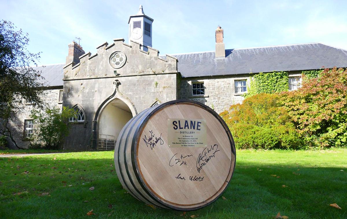 Irish Whiskey Distilleries: Slane Distillery