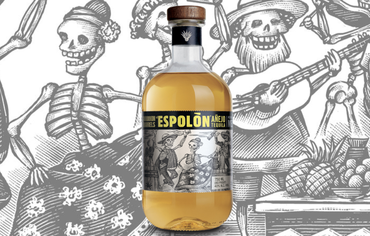 Dia de los Muertos: Espolon Añejo Tequila
