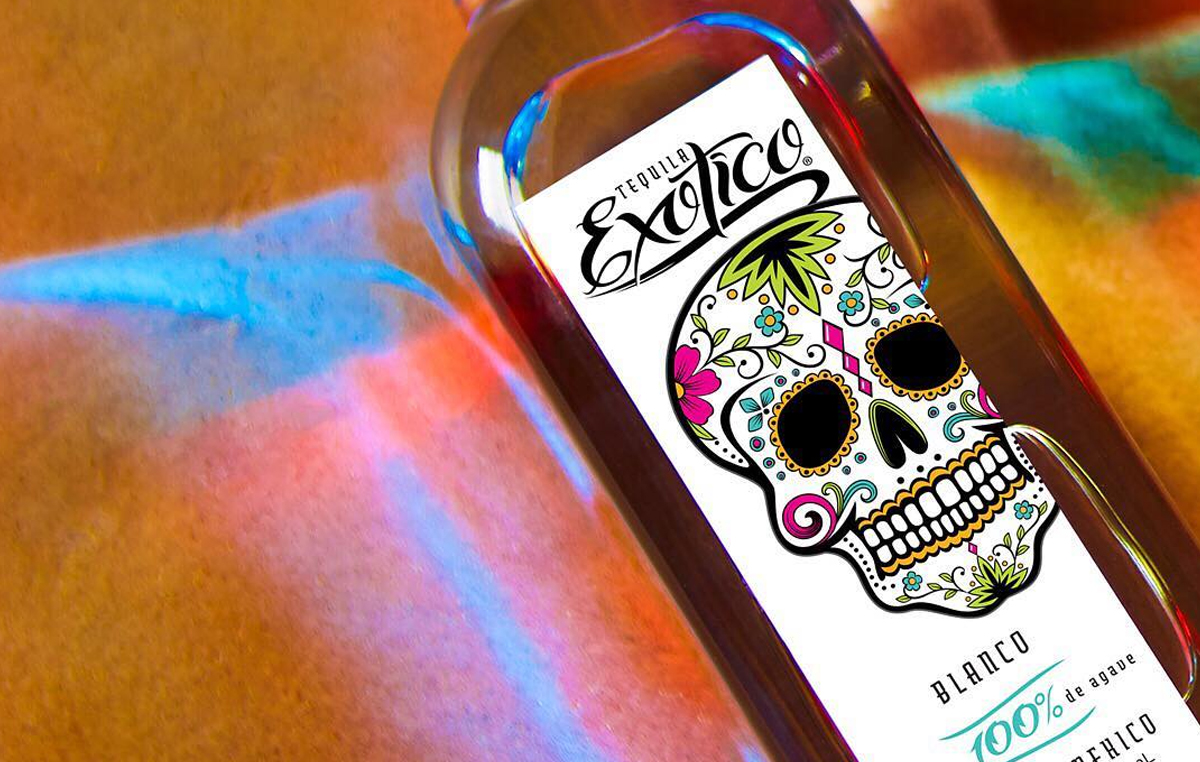 Dia de los Muertos: Exotico Tequila Blanco