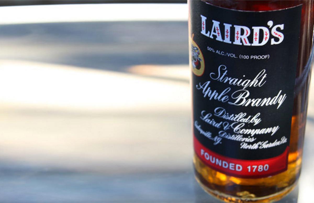 Thanksgiving Bar Essentials: Laird's Straight Apple Brandy