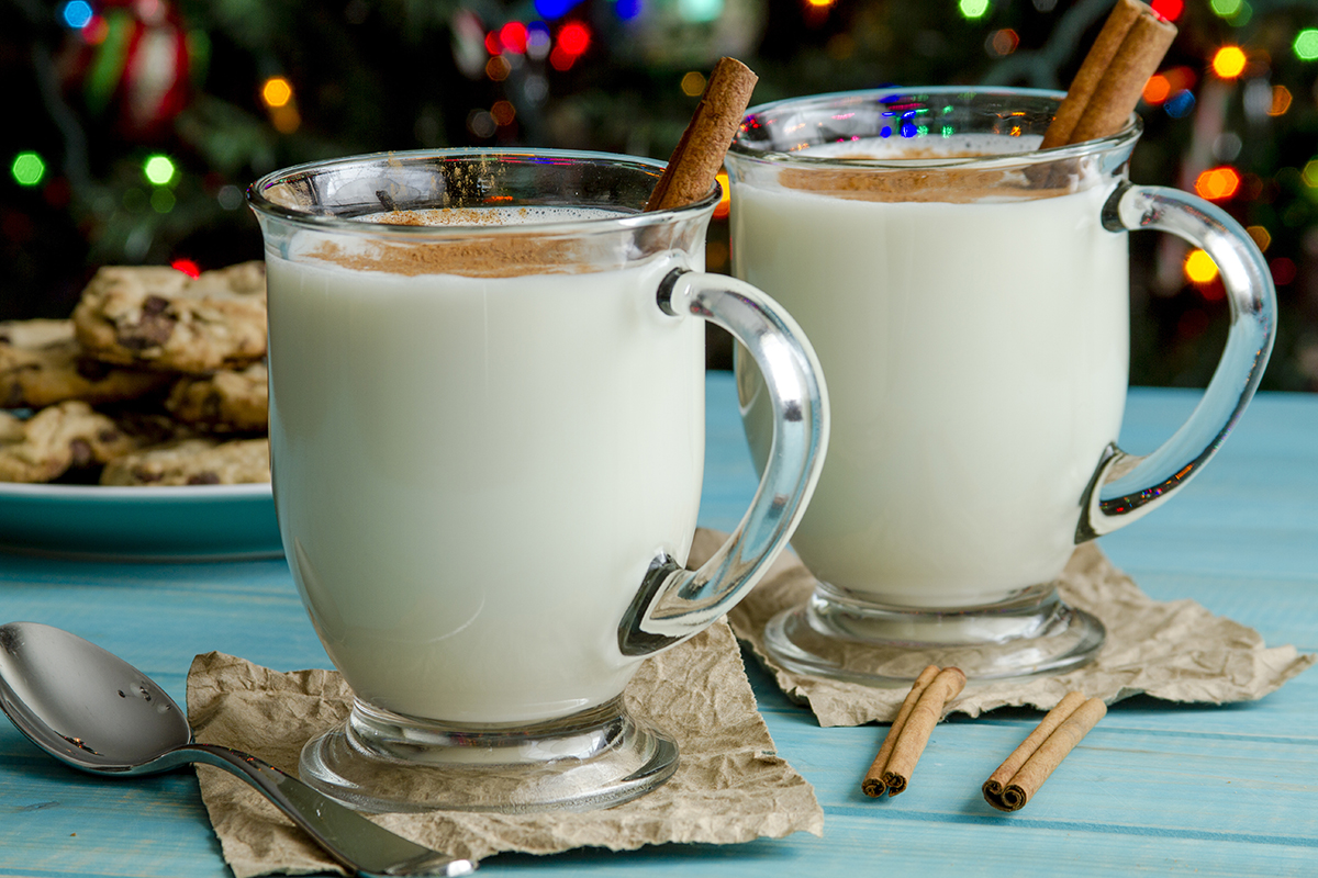 Holiday Punch: Milk Punch