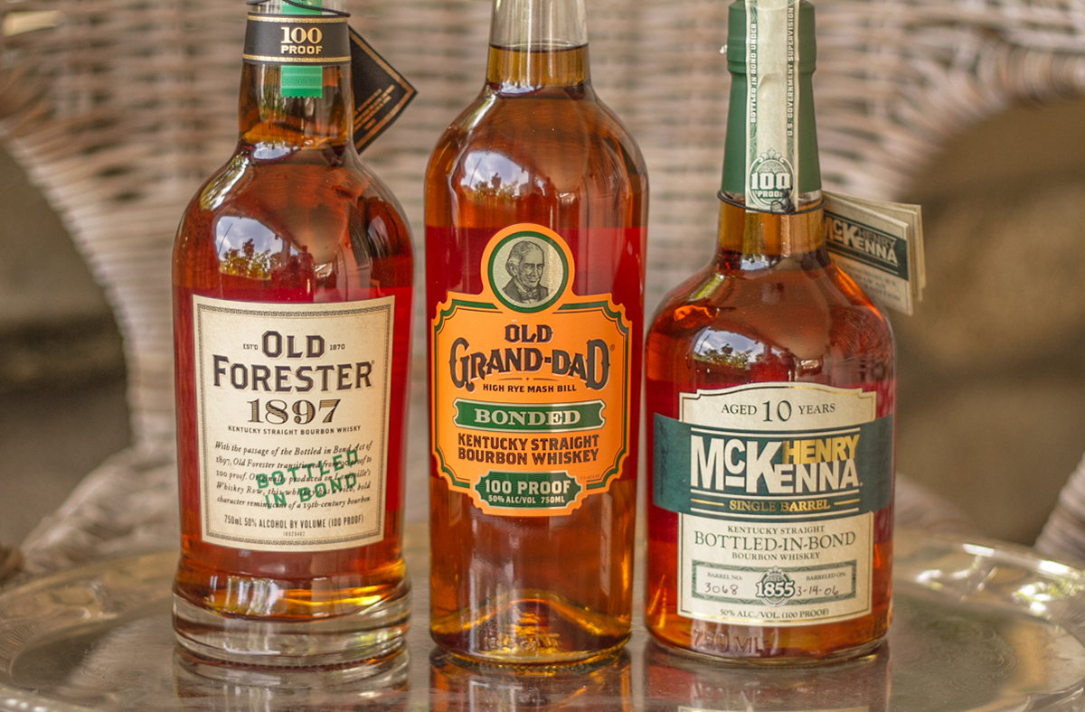 Whiskey Label: Bottled-In-Bond Whiskeys