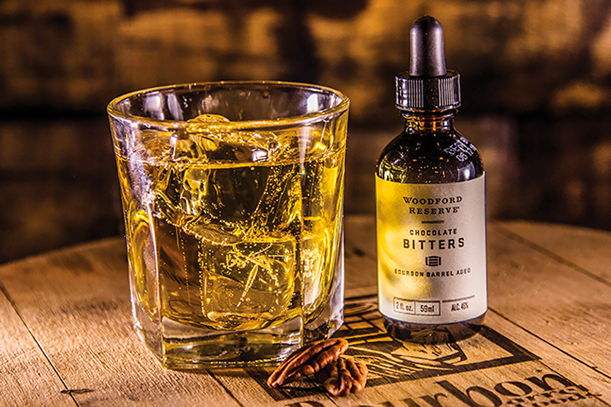 bourbon and chocolate: Woodford Reserve Chocolate Bitters