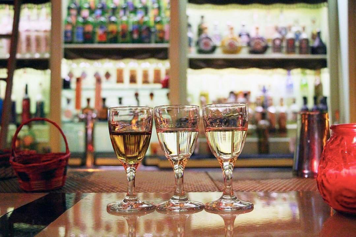 Best Mezcal Bars: Mezcal selections at Las Perlas