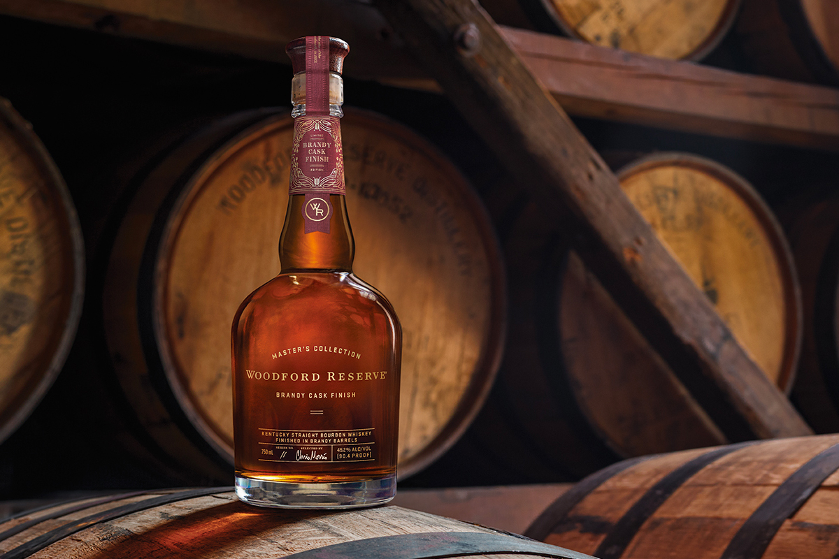 whiskey barrel finishes: Woodford Reserve's Master's Collection Brandy Cask Finish