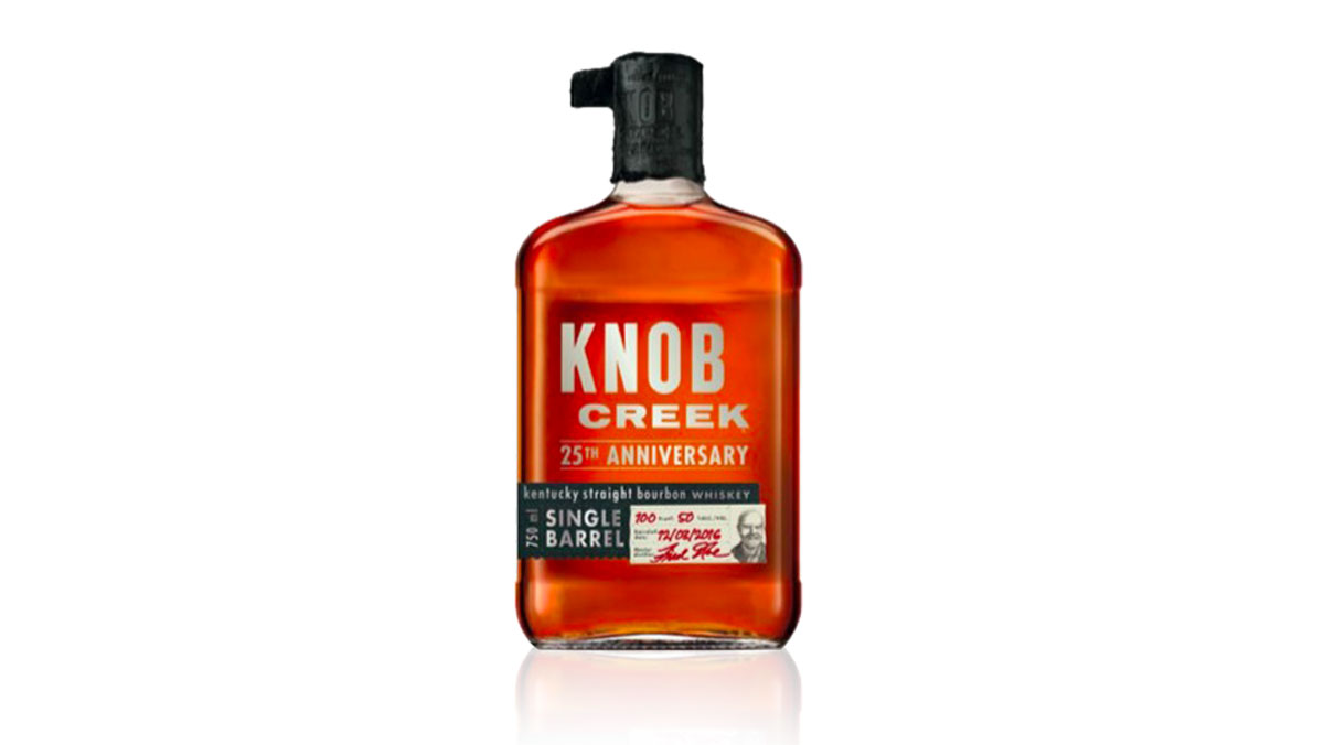 Knob Creek 25th Anniversary Single Barrel Reserve