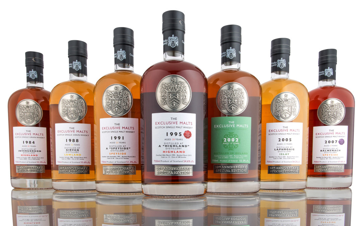 Independent Cask Bottles: Exclusive Malts Lineup