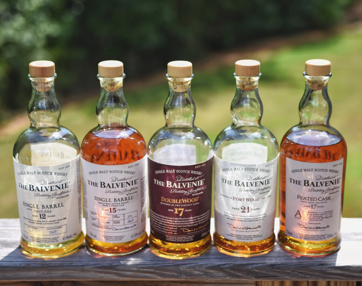 Single Malt Whiskey: Balvenie Bottles
