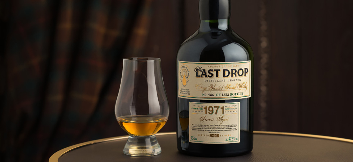 The Last Drop 1971 Blended Scotch