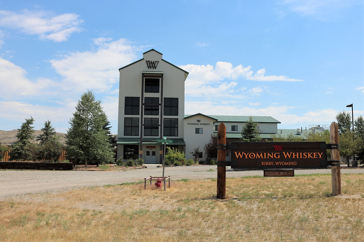 Wyoming Whiskey: Distillery