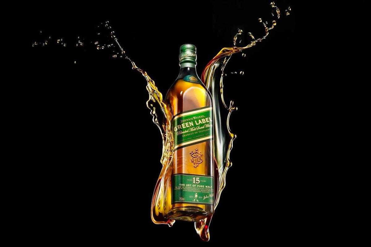 Blended Malt: Johnnie Walker Green Label 15 Year