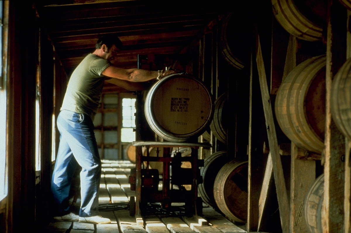 Weather Affects Whiskey: Barrel Entering Rickhouse