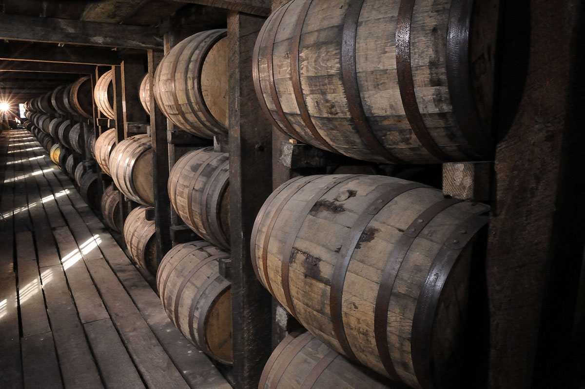 Weather Affects Whiskey: Rickhouse