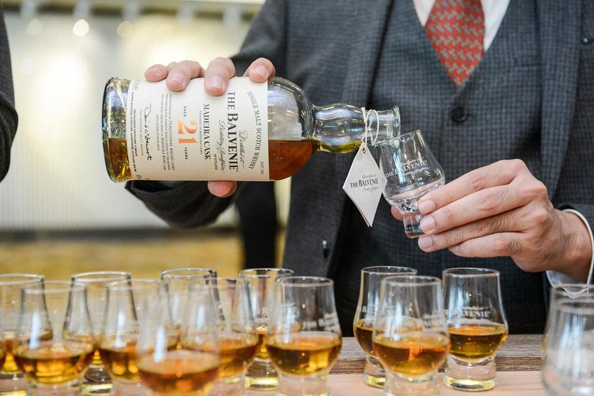 Travel Retail Whiskey: Balvenie 21 Year