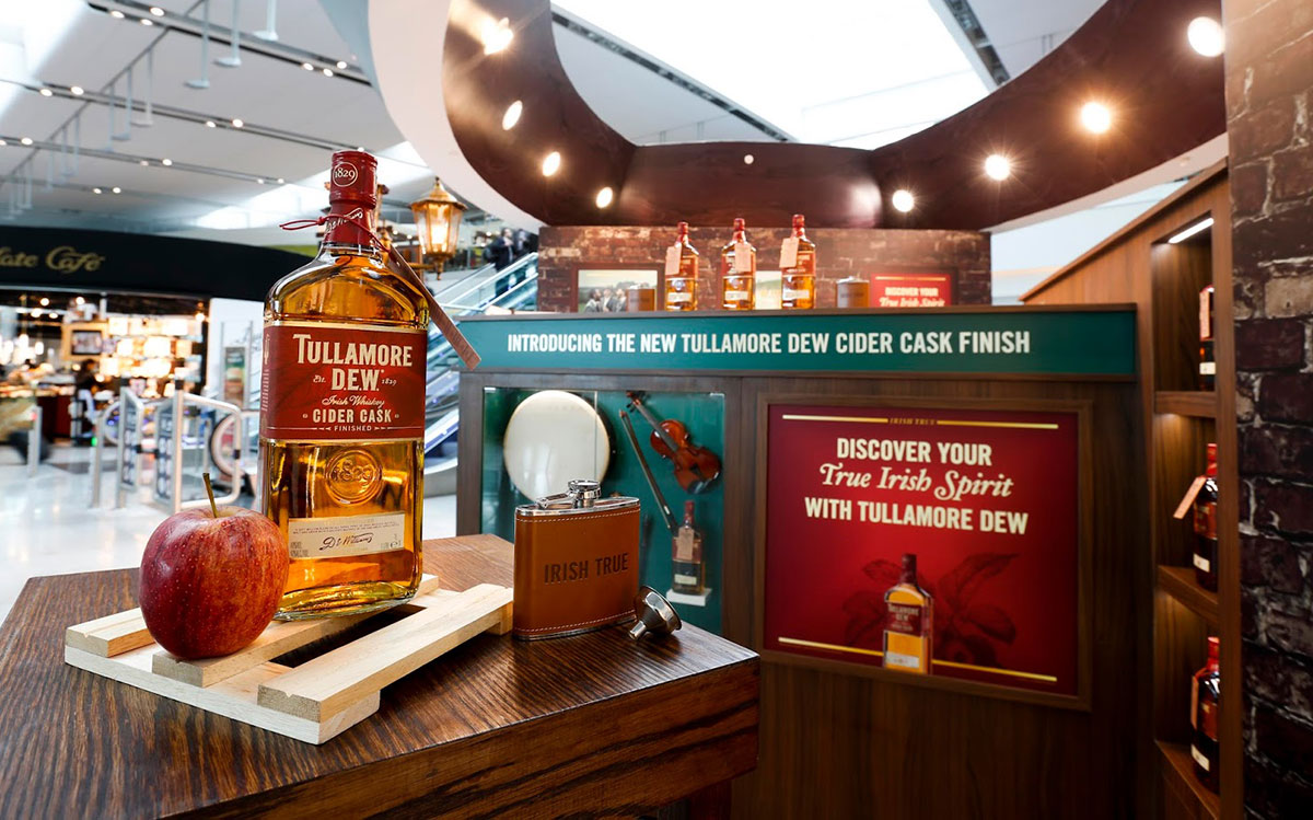 Travel Retail Whiskey: Tullamore Dew Cider Cask