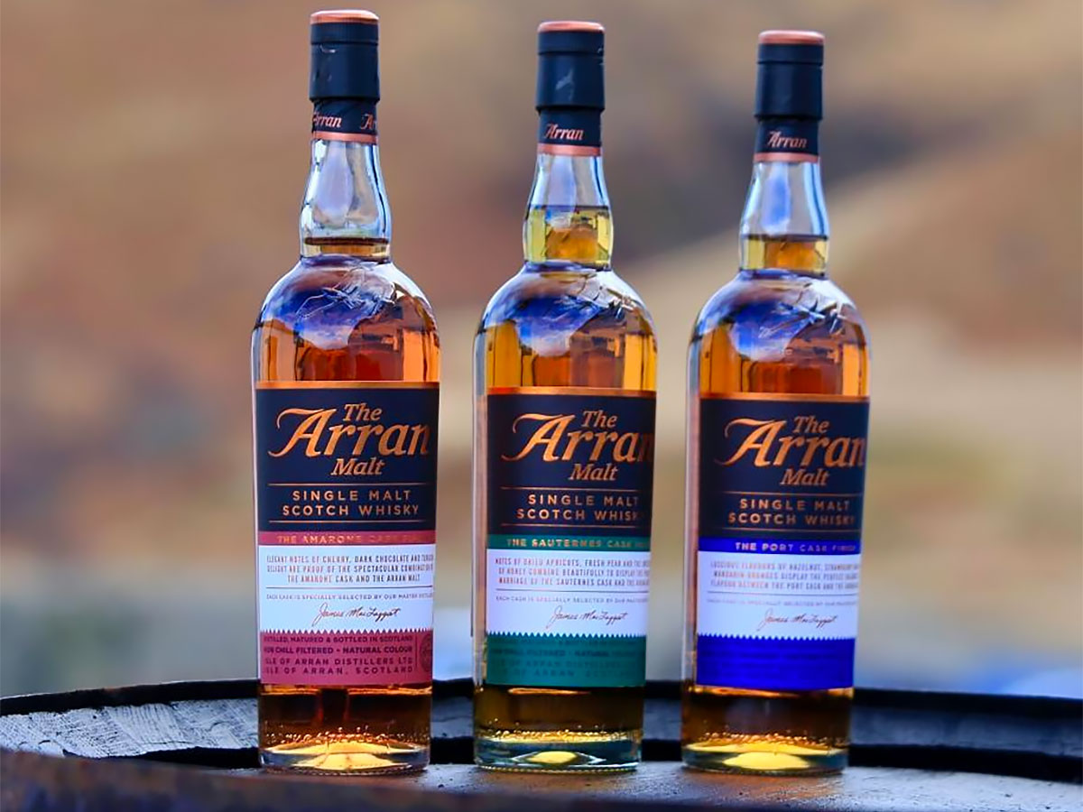 Whiskey Finished in Wine: Arran Sauternes Cask Finish Single Malt