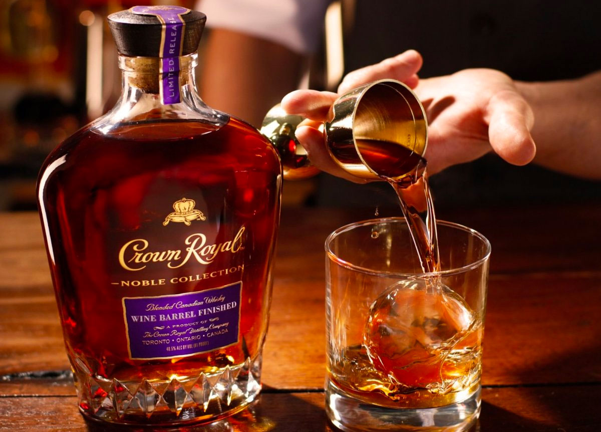Whiskey Finished in Wine: Crown Royal Noble Collection Wine Barrel Finish