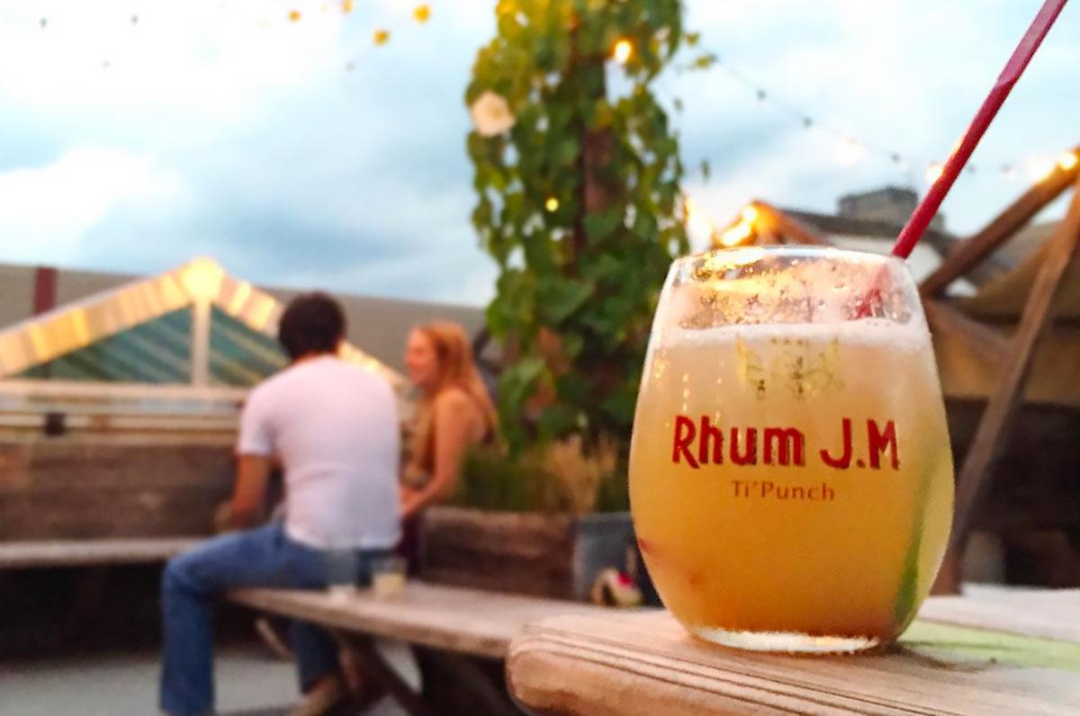 Home Bar Rum: Rhum J.M Agricole Blanc 'Ti Punch