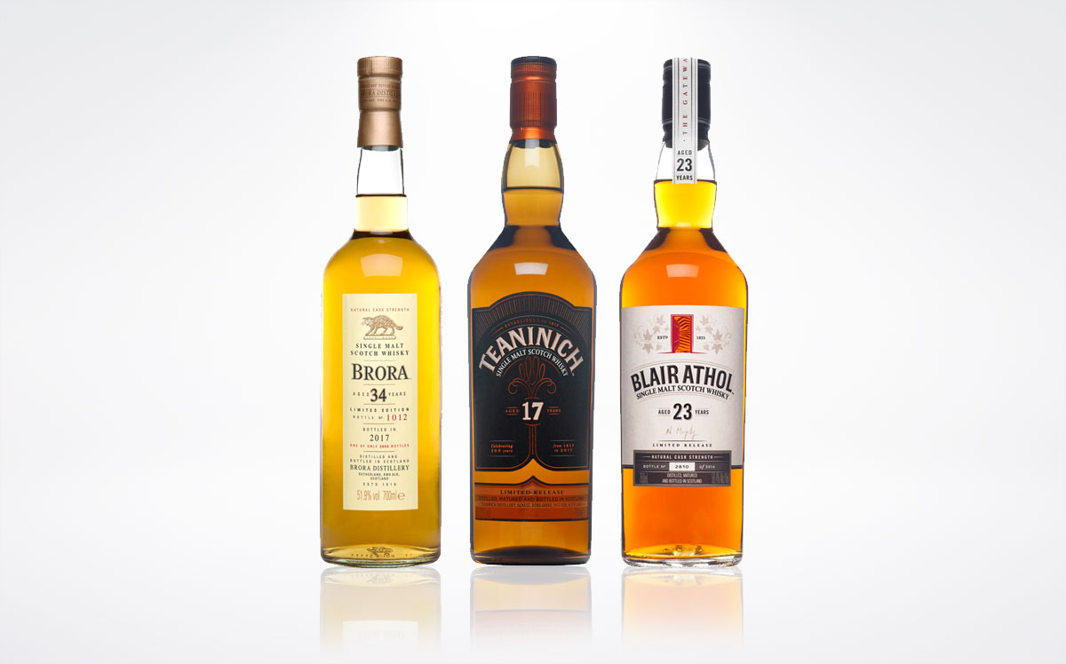Diageo 2017 Highlands Releases
