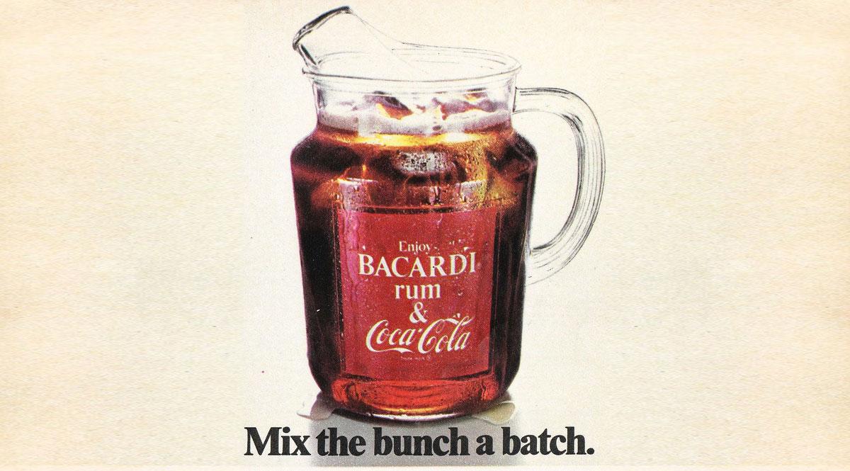 Cuba Libre: Vintage Bacardi and Coke Ad