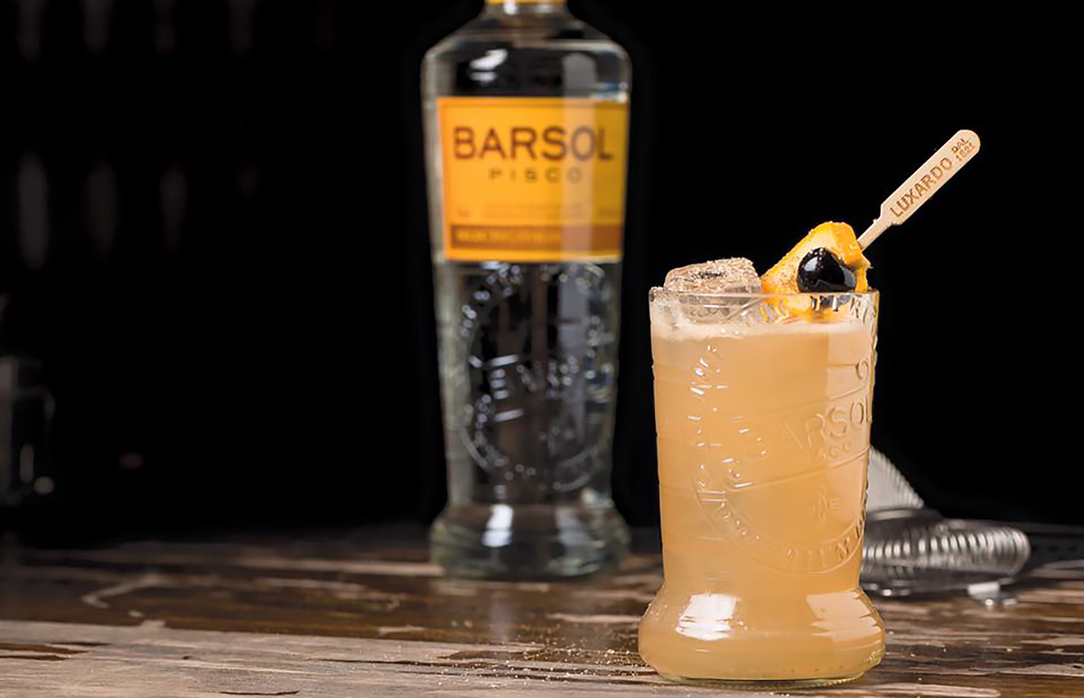 Pisco Punch: Pisco Punch with Barsol Pisco