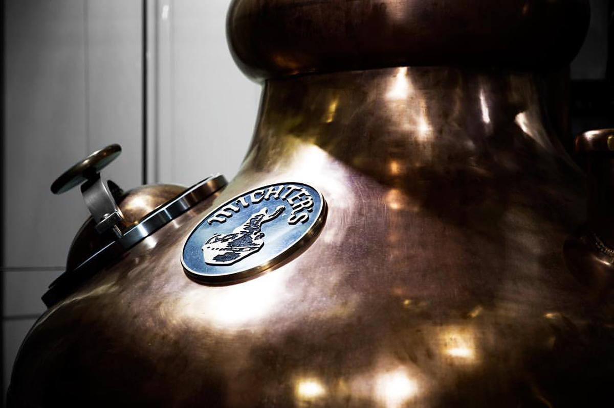 "Michter's Pam Heilmann: Michter's 9' tall, 66 "" diameter, 250-gallon copper Pot Still Doubler"