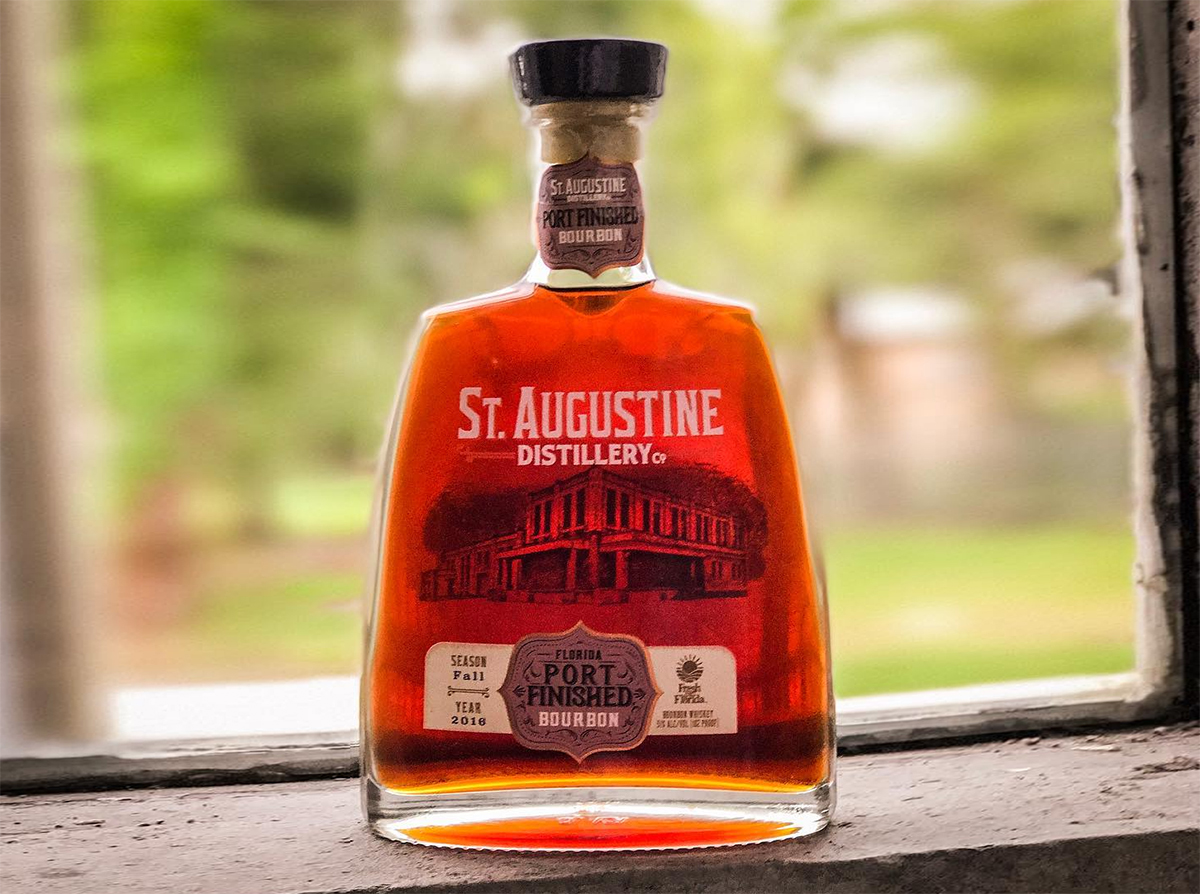 Non-Kentucky Bourbon: St. Augustine Distillery Port Finished Bourbon