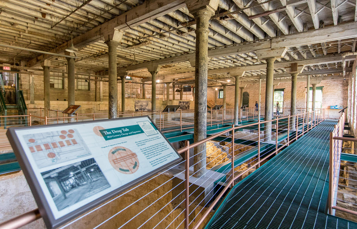 Buffalo Trace Bourbon Pompeii: Inside one of the old O.F.C. buildings