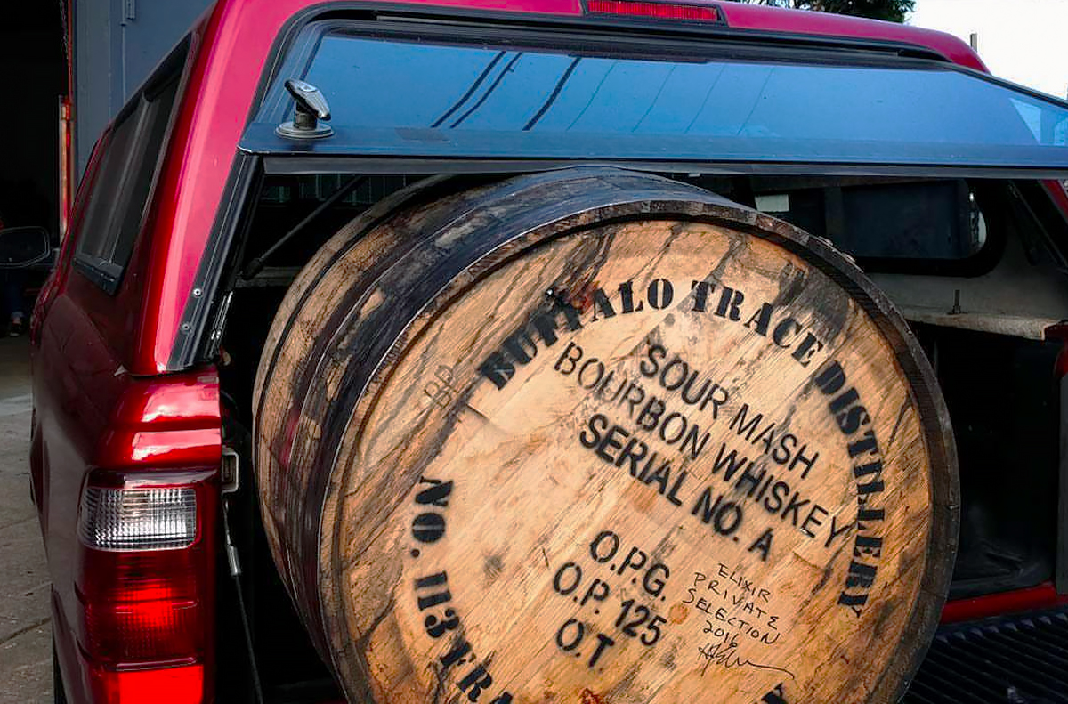 Single Barrel Bars: A Buffalo Trace private barrel arrives at Elixir