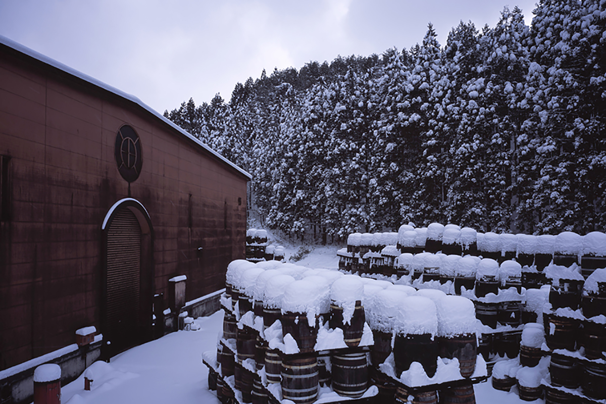 Whiskey Demand: Whisky barrels at the Miyagikyo Distillery