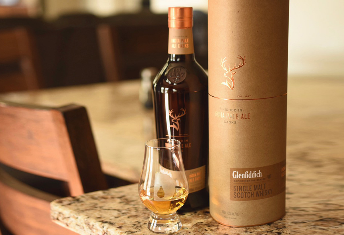 Whiskey Demand: Glenfiddich IPA